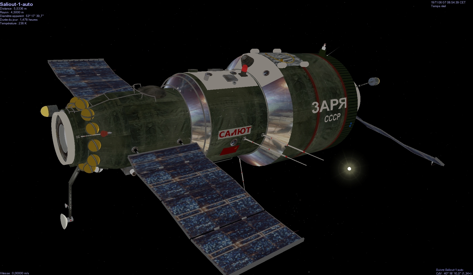 salyut 1 space station illustration - photo #15