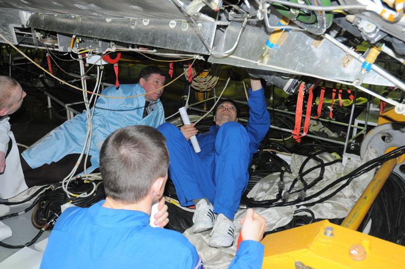 Занятия космонавтов на многоцелевом лабораторном модуле_12
