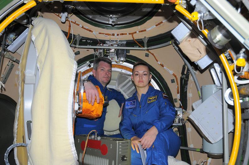 Занятия космонавтов на многоцелевом лабораторном модуле_16