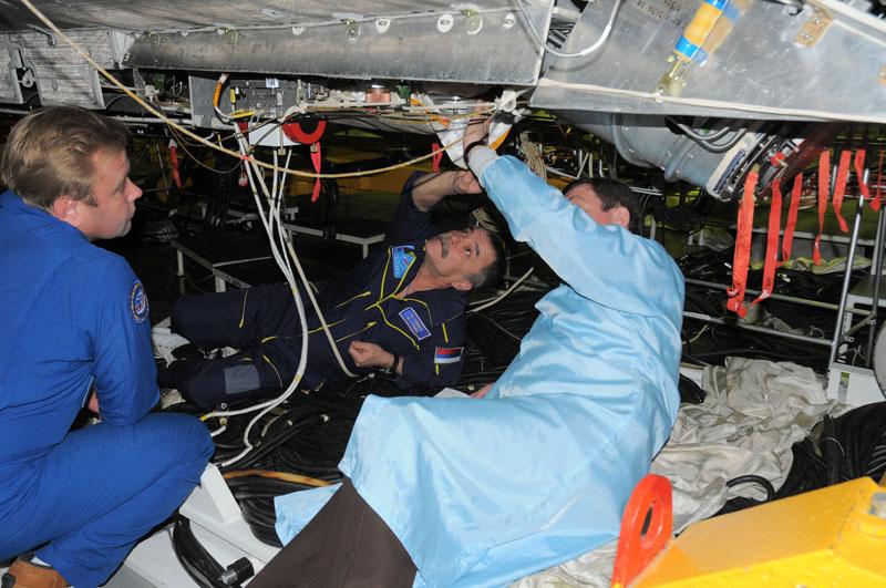 Занятия космонавтов на многоцелевом лабораторном модуле_34