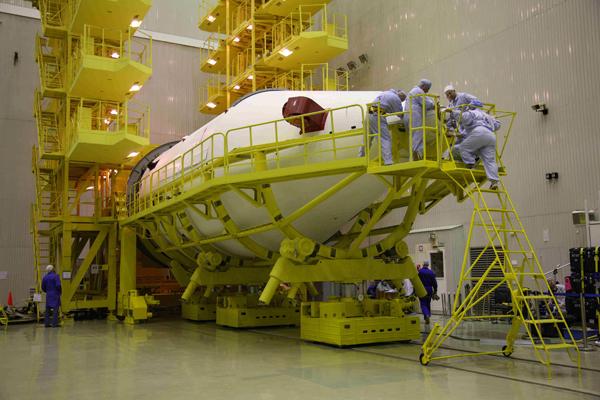 РН Протон-М с КА Anick G1_10