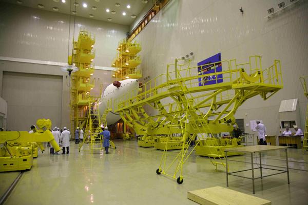 РН Протон-М с КА Anick G1_16