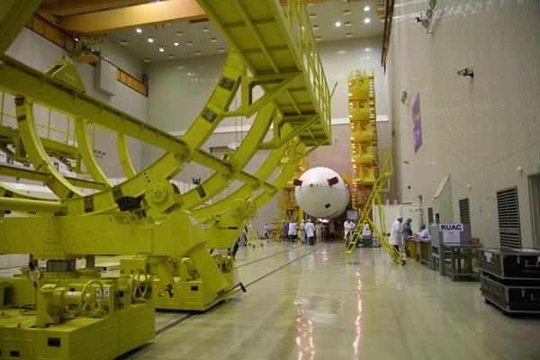 РН Протон-М с КА Anick G1_17