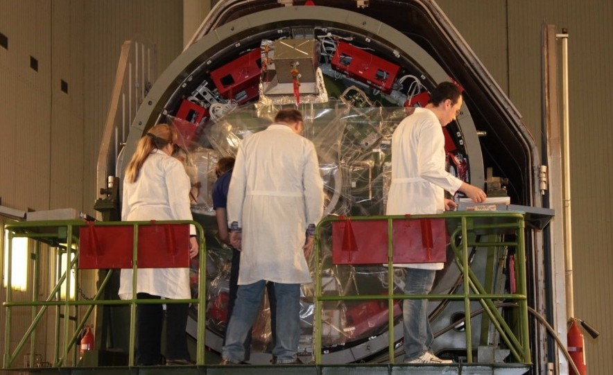 Заправка космического аппарата Бион-М_2