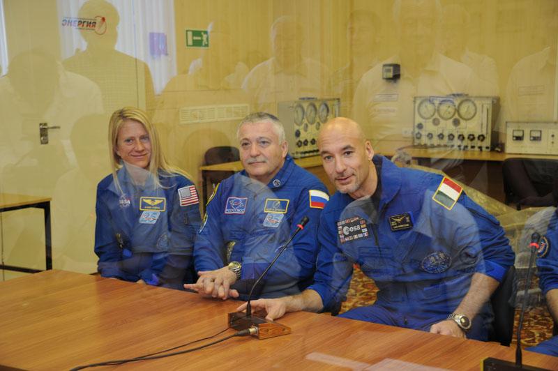 Заключительный этап подготовки экипажа ТПК Союз ТМА-09М_03