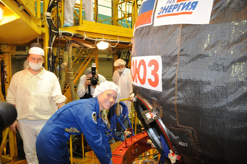 Заключительный этап подготовки экипажа ТПК Союз ТМА-09М_04