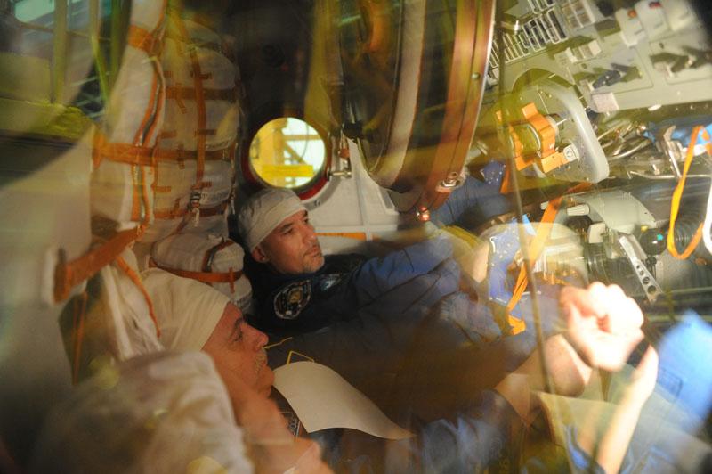 Заключительный этап подготовки экипажа ТПК Союз ТМА-09М_05