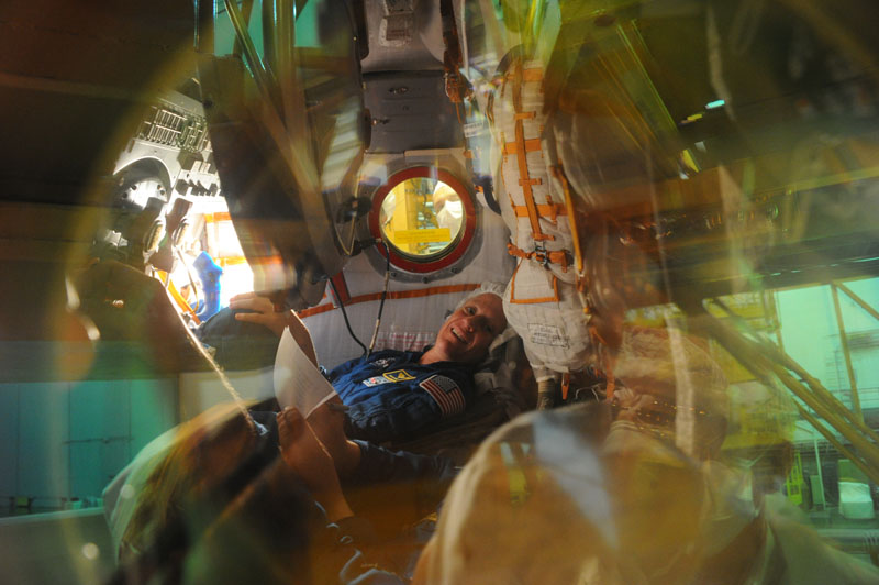 Заключительный этап подготовки экипажа ТПК Союз ТМА-09М_06