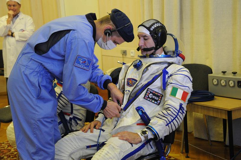 Заключительный этап подготовки экипажа ТПК Союз ТМА-09М_09