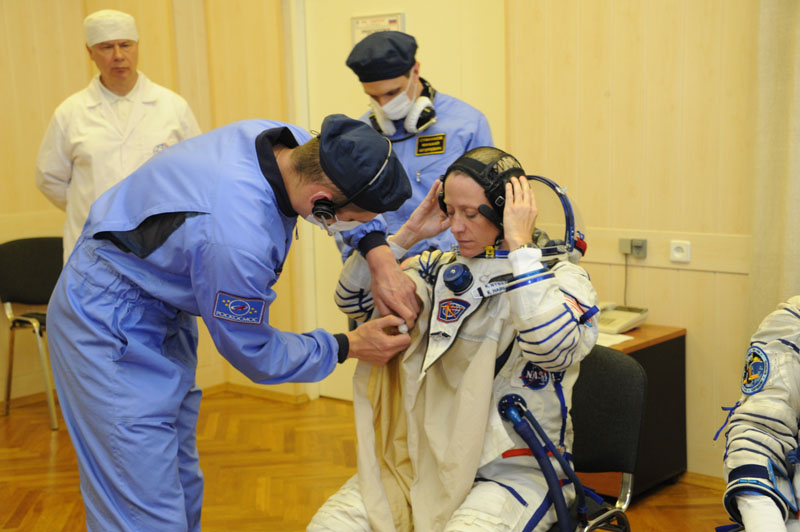 Заключительный этап подготовки экипажа ТПК Союз ТМА-09М_11