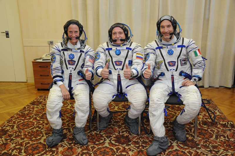 Заключительный этап подготовки экипажа ТПК Союз ТМА-09М_13