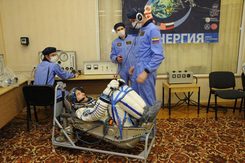 Заключительный этап подготовки экипажа ТПК Союз ТМА-09М_15