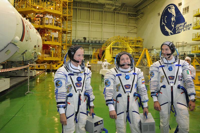 Заключительный этап подготовки экипажа ТПК Союз ТМА-09М_19