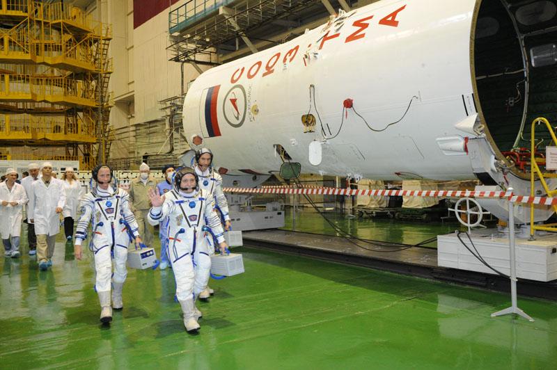 Заключительный этап подготовки экипажа ТПК Союз ТМА-09М_20
