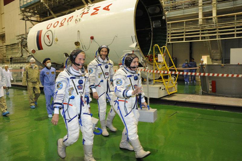 Заключительный этап подготовки экипажа ТПК Союз ТМА-09М_21