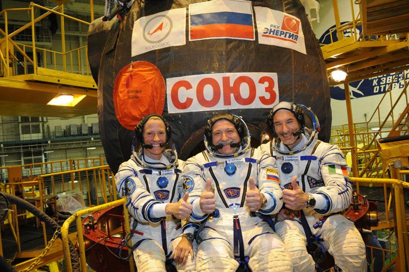 Заключительный этап подготовки экипажа ТПК Союз ТМА-09М_22