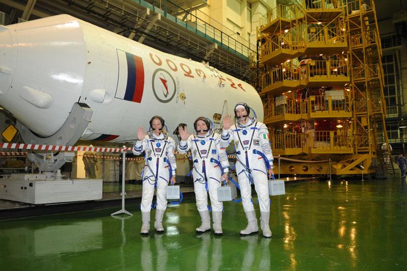 Заключительный этап подготовки экипажа ТПК Союз ТМА-09М_28