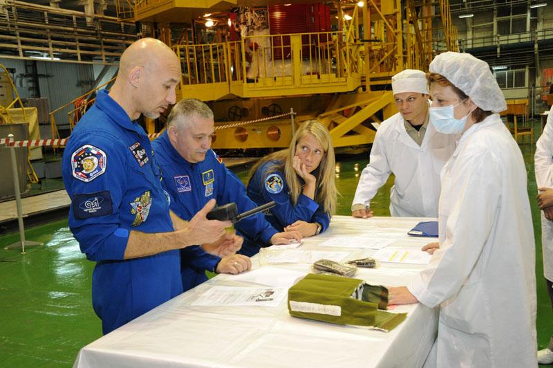 Заключительный этап подготовки экипажа ТПК Союз ТМА-09М_32