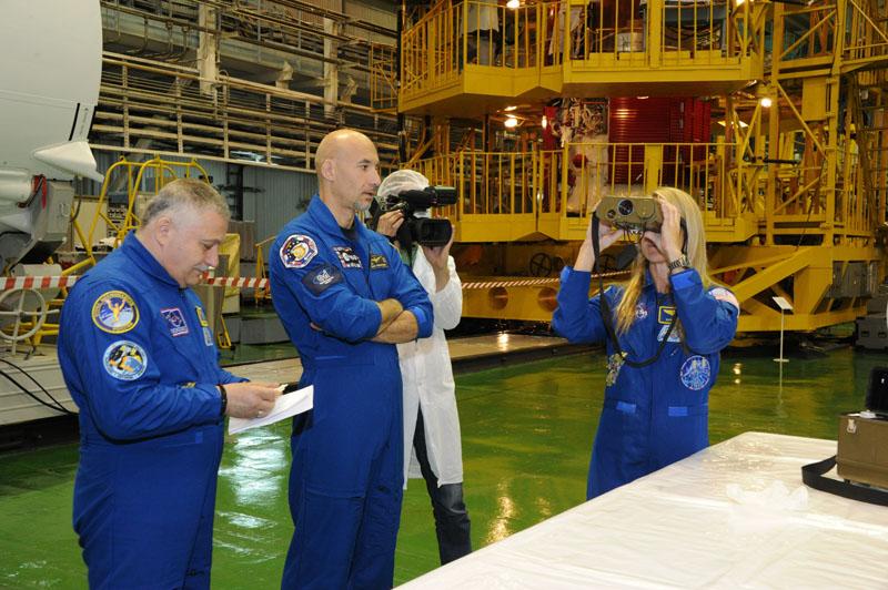 Заключительный этап подготовки экипажа ТПК Союз ТМА-09М_34