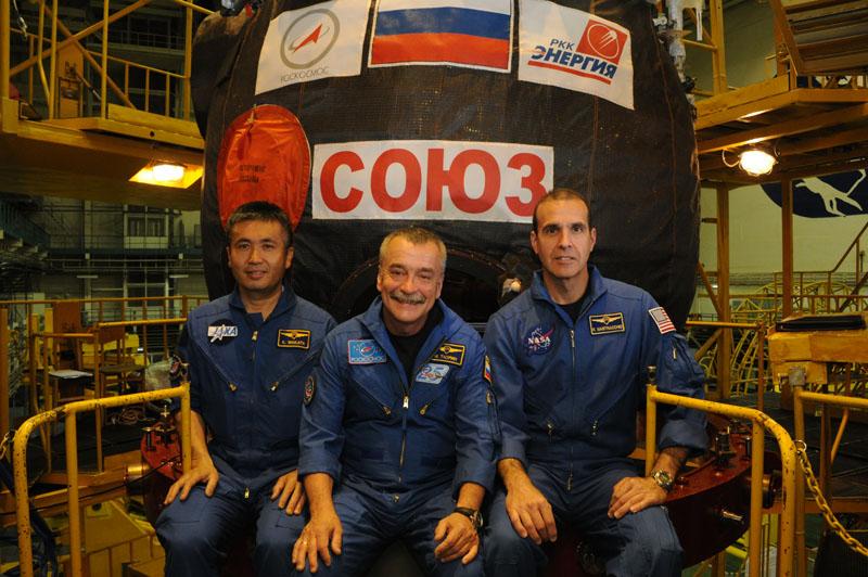Заключительный этап подготовки экипажа ТПК Союз ТМА-09М_35