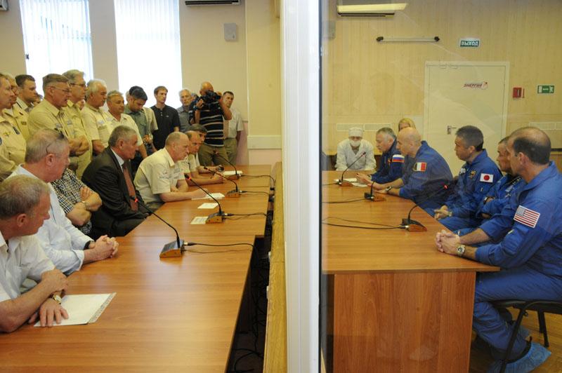 Заключительный этап подготовки экипажа ТПК Союз ТМА-09М_36