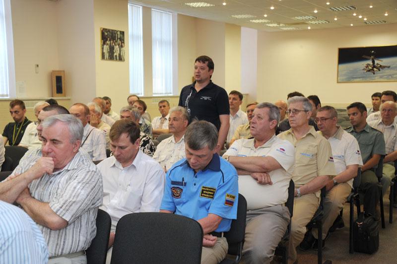 Заключительный этап подготовки экипажа ТПК Союз ТМА-09М_42