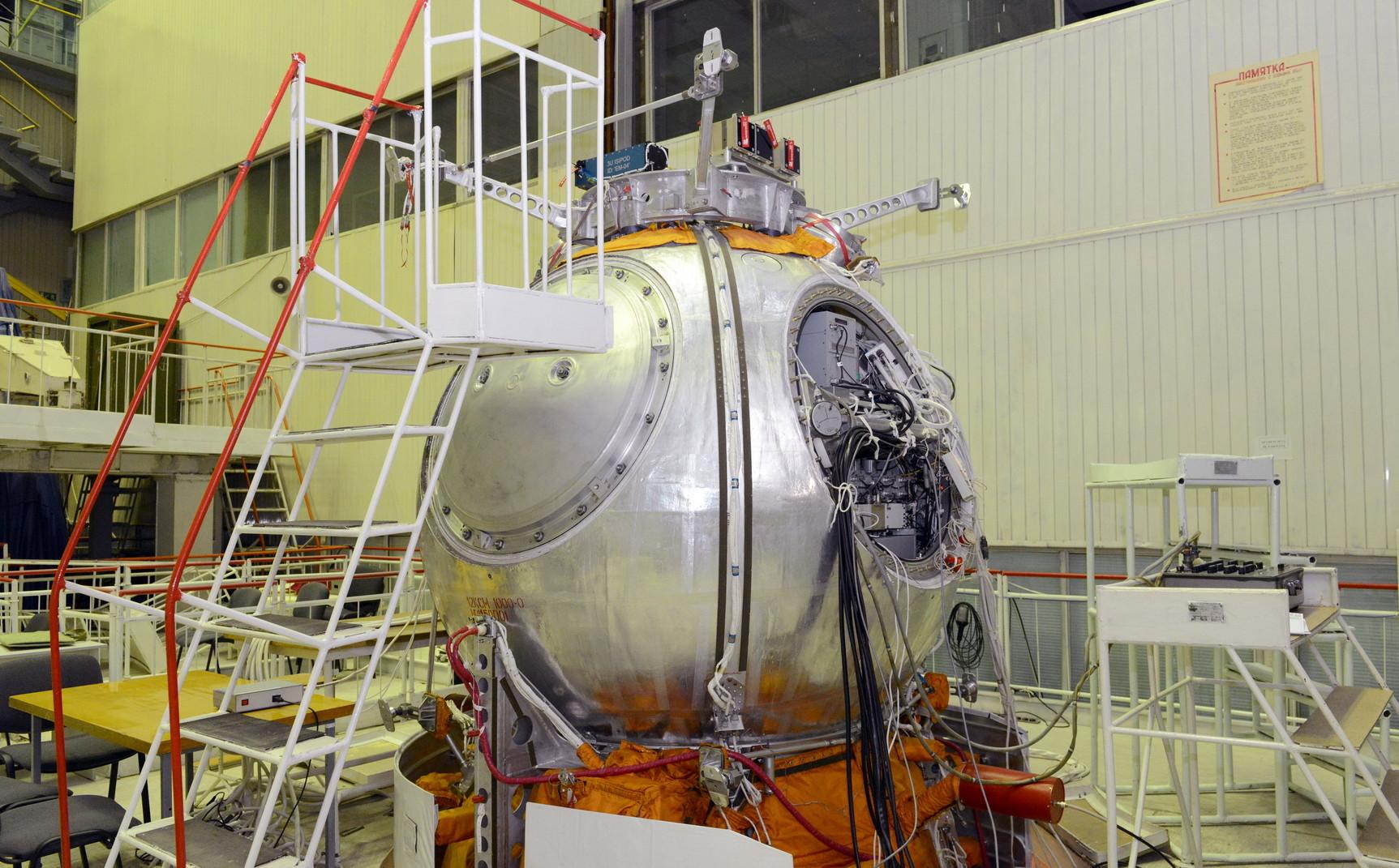 Научный космический аппарат Бион-М № 1 вернулся на Землю